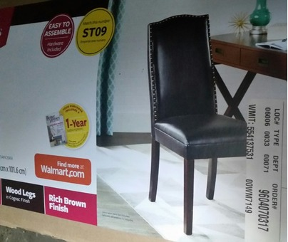 7 New kitchen chairs never used