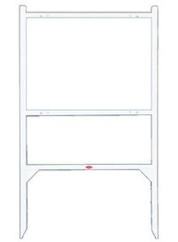13 real estate sign frames