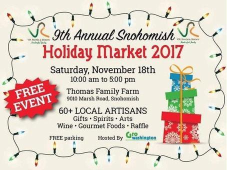 9th Annual Snohomish Holiday Market