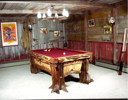 Bristlecone Pine Pool Table
