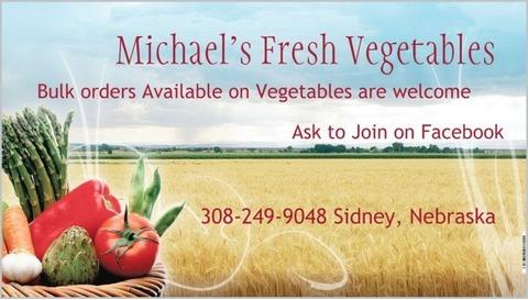 Michael's Fresh Vegetables
